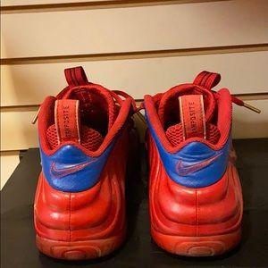 "Nike Shoes - Foamposite ""Red October"" custom"